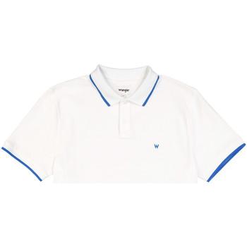 textil Hombre Polos manga corta Wrangler W7D5K4989 Blanco