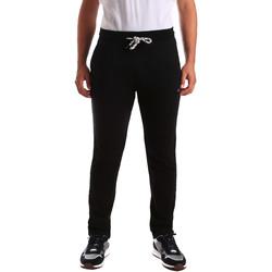 textil Hombre Pantalones de chándal Key Up 2F36E 0001 Negro