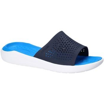 Zapatos Hombre Chanclas Crocs 205183 Azul