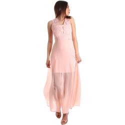textil Mujer Vestidos largos Gaudi 911FD15004 Rosado