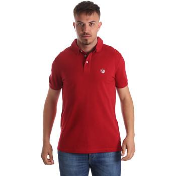 textil Hombre Polos manga corta Gaudi 911BU64063 Rojo