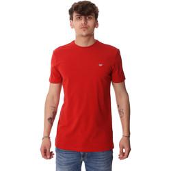 textil Hombre Camisetas manga corta Antony Morato MMKS01737 FA120022 Rojo