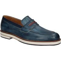 Zapatos Hombre Mocasín Exton 605 Azul