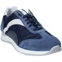 Zapatos Hombre Zapatillas bajas Exton 661 Azul