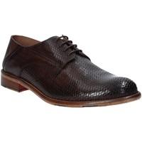 Zapatos Hombre Derbie Exton 3102 Marrón