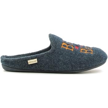 Zapatos Hombre Pantuflas Grunland CI1073 Azul