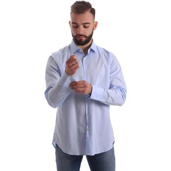 textil Hombre Camisas manga larga Gmf 962111/21 Azul