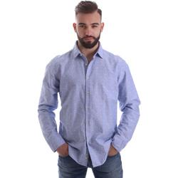 textil Hombre Camisas manga larga Gmf 962118/03 Azul