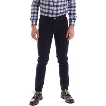 textil Hombre Pantalones con 5 bolsillos Sei3sei 02396 Azul