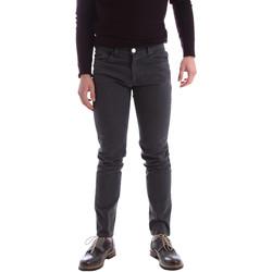 textil Hombre Pantalones con 5 bolsillos Sei3sei 02396 Gris