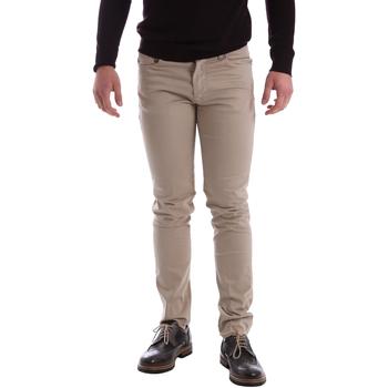 textil Hombre Pantalones con 5 bolsillos Sei3sei 02396 Beige