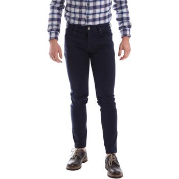 textil Hombre Pantalones con 5 bolsillos Sei3sei 02696 Azul