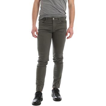 textil Hombre Pantalones con 5 bolsillos Sei3sei 02696 Verde