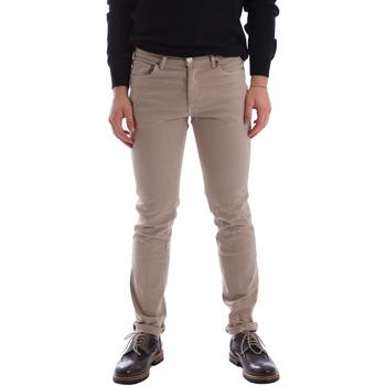 textil Hombre Pantalones con 5 bolsillos Sei3sei 02696 Beige