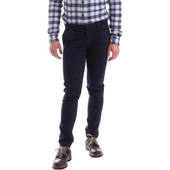 textil Hombre Pantalones chinos Sei3sei 02396 Azul