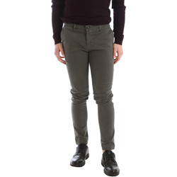 textil Hombre Pantalones chinos Sei3sei 02396 Verde