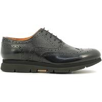 Zapatos Hombre Derbie Rogers 3863-6 Negro
