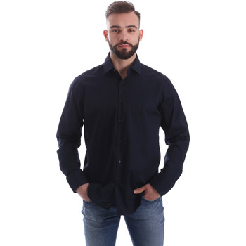 textil Hombre Camisas manga larga Gmf 962250/01 Azul