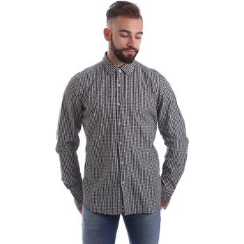 textil Hombre Camisas manga larga Gmf 962169/04 Negro