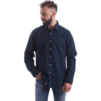 textil Hombre Camisas manga larga Gmf 962157/06 Azul