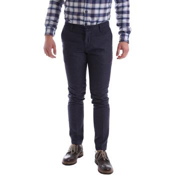 textil Hombre Pantalones chinos Sei3sei 2716 Violeta