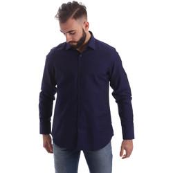 textil Hombre Camisas manga larga Gmf 962103/05 Azul
