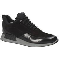 Zapatos Hombre Zapatillas bajas Exton 162 Negro