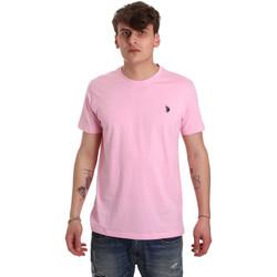 textil Hombre Camisetas manga corta U.S Polo Assn. 57084 49351 Rosado