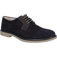 Zapatos Hombre Derbie Café Noir RB613 Azul