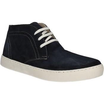 Zapatos Hombre Zapatillas altas Café Noir XN601 Azul