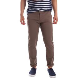 textil Hombre Pantalones chinos Gaudi 71FU25005 Marrón