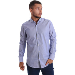 textil Hombre Camisas manga larga Gmf 971263/01 Azul