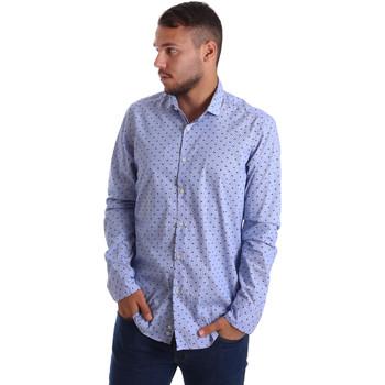 textil Hombre Camisas manga larga Gmf 971200/04 Azul
