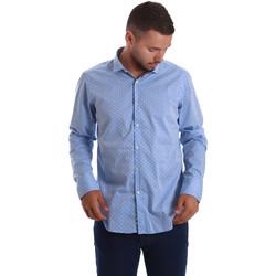 textil Hombre Camisas manga larga Gmf 971208/03 Azul