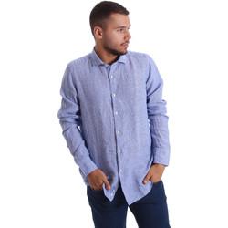 textil Hombre Camisas manga larga Gmf 971314/04 Azul