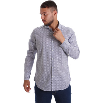 textil Hombre Camisas manga larga Gmf 971184/02 Azul
