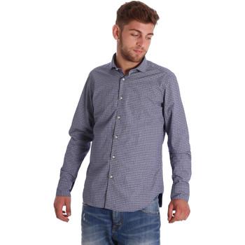 textil Hombre Camisas manga larga Gmf 971192/03 Azul