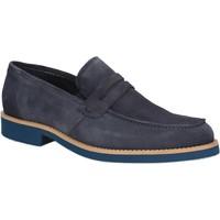 Zapatos Hombre Mocasín Rogers 1008B Azul