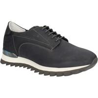 Zapatos Hombre Zapatillas bajas Alberto Guardiani SU744559A Azul