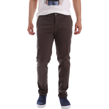textil Hombre Pantalones chinos Sei3sei PZVI69 7148 Marrón