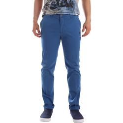 textil Hombre Pantalones chinos Sei3sei PZVI69 7148 Azul
