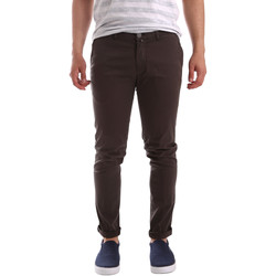 textil Hombre Pantalones chinos Sei3sei PZV21 7183 Marrón
