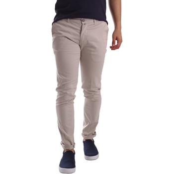 textil Hombre Pantalones chinos Sei3sei PZV21 7183 Beige