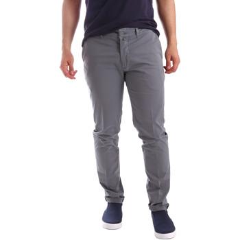 textil Hombre Pantalones chinos Sei3sei PZV21 7148 Gris