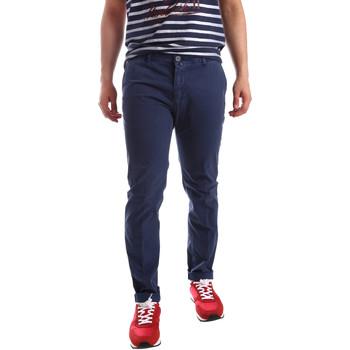 textil Hombre Pantalones chinos Sei3sei PZV20 71341 Azul