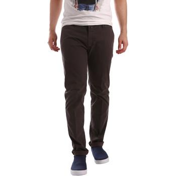 textil Hombre Pantalones chinos Sei3sei PZV20 71341 Marrón