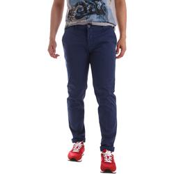 textil Hombre Pantalones chinos Sei3sei PZV89 71336 Azul