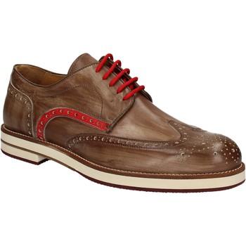 Zapatos Hombre Derbie Exton 609 Marrón