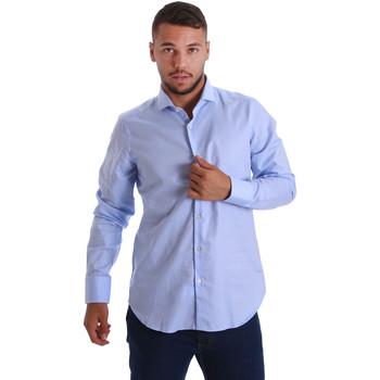 textil Hombre Camisas manga larga Gmf 971103/03 Azul