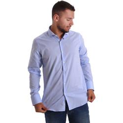 textil Hombre Camisas manga larga Gmf 971101/03 Azul